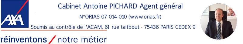 Mr Antoine Pichard Agent général AXA St-Nazaire