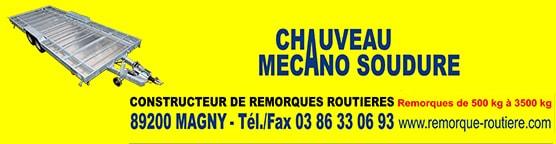 constructeur remorque tiny house - chauveau mecano soudure