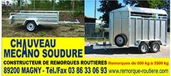 Chauveau mecano soudure - Fabricant Français de remorque pour tiny house